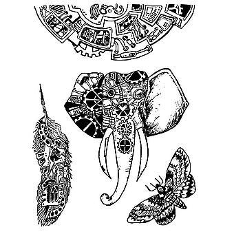 الطوابع المطاطية الطبيعية الحيوانات الميكانيكية (WTKAT03)