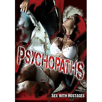 Psychopaths: Sex with Hostages [DVD] USA import