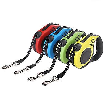 Durable Dog Leash Automatic Retractable Nylon Lead Extending Puppy Walking Running Leads For Small Medium Dogs Pet Supplies
