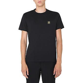 Belstaff 71140305j61n013290000 Men's Zwart Katoen T-shirt