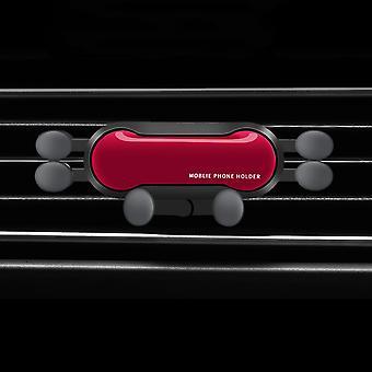 Bakeey pionowe poziome grawitacyjne powiązanie automatyczne blokady odpowietrznik foteliku samochodowego dla 4,0-6,8 cala inteligentny telefon dla iPhone 11 dla samsung xiaomi