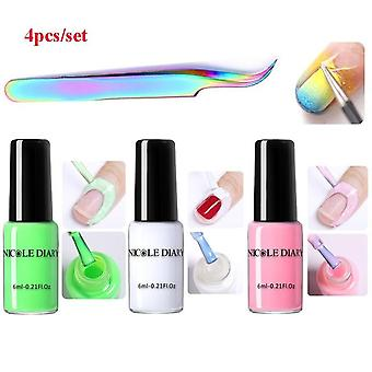 Peel Off Liquid Tape Form Nail Polish Protection Finger Skin Cream Whit Latex Protected Glue Easy Clean Nail Polish