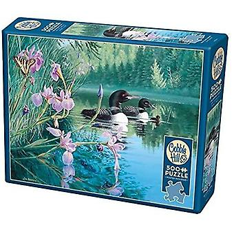 Cobble hill - iris cove loons - 500 pc puzzel