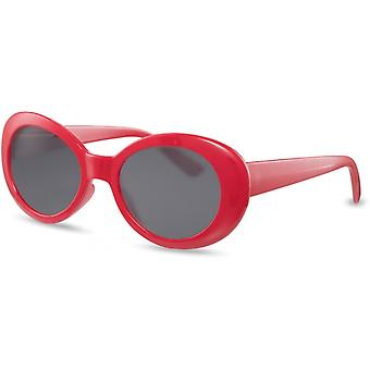 Sunglasses Women's oval red/black (CWI2166)