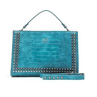 Italia glamorous turquoise handbag