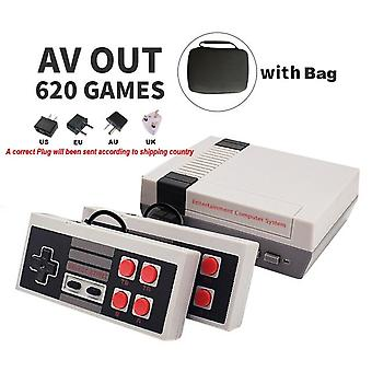 Hdmi/av Output Mini Tv Handheld Retro Video Game Console With Classic 500 Games Built-in