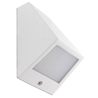 LED Outdoor Small Wall Light White IP54