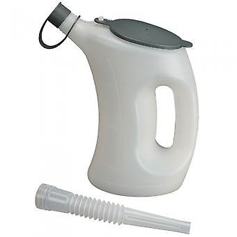 pourcan avec couvercle et bec flexible 1 litre
