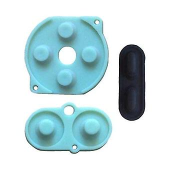 Conductive silicone rubber pad button contacts kit for nintendo game boy color | zedlabz