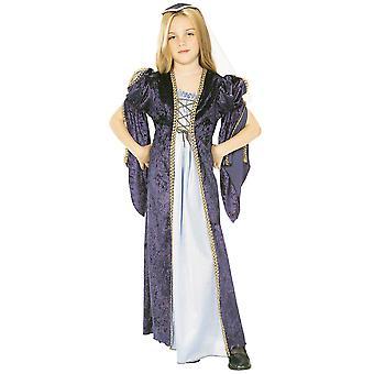 Juliet Renaissance Faire Medieval Princess Girls Costume