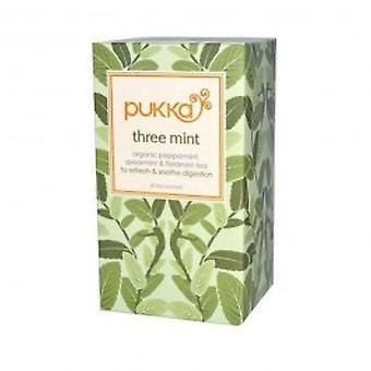 Pukka - Three Mint Tea 20 sachet