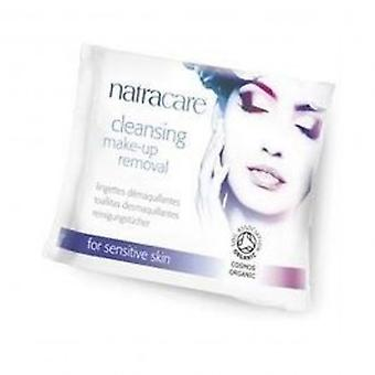 Natracare - zuivering Make-Up verwijderen 20wipes wissen