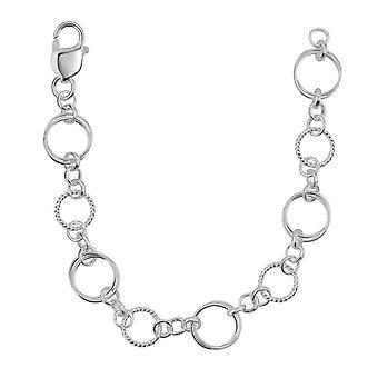 Dew sterling zilver set cirkel Link Bracelet 7692HP027