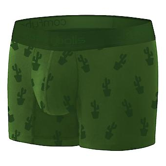 Comfyballs Wood Long Cactus Ghost Boxers - Olive