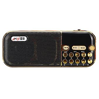 Portable Digital TF Card U Disk FM Radio MP3 Music Player Speaker