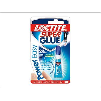Loctite Power Easy Super Glue Gel 3g