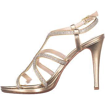 Caparros Women's Shoes Pizzaz Fabric Open Toe SlingBack Classic Pumps