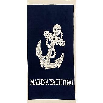 Aqua Perla Turecki Bawełna Ręcznik plażowy Marina Żeglarstwo