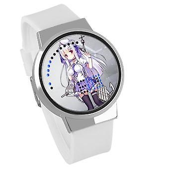 Αδιάβροχο φωτεινό ρολόι παιδιών αφής φωτεινών οδηγήσεων - πάροδος Azur #16