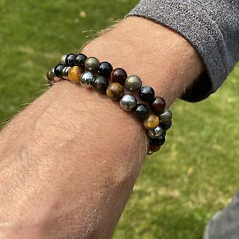 Tiger Eye Mix Armband