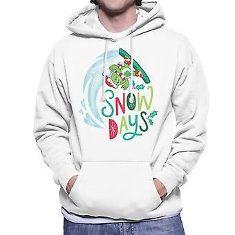 Care Bears Unlock The Magic Christmas Snow Days Men's Hooded Sweatshirt