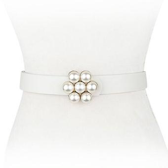 Pearl Cluster Waist Belt