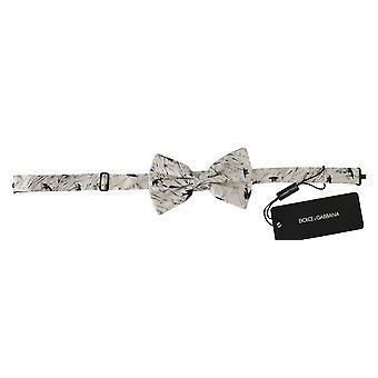 Dolce & Gabbana Vita Fåglar 100% Silk justerbar hals fjäril män
