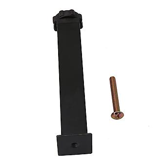 Metal Hardware Sofa Leg Black 20cm Cabinet Couch Feet for Furniture Part