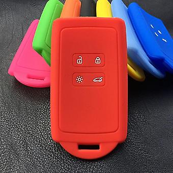 Silicone Rubber Car Key Case Cover, Button Card Smart Shell Set