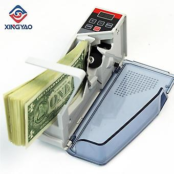 V40 Mini Portable Handy Currency Counter Machine Money Cash Counting Machine