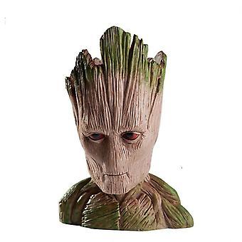 Strongwell Groot Virágcserép, Fa ember Aranyos Modell