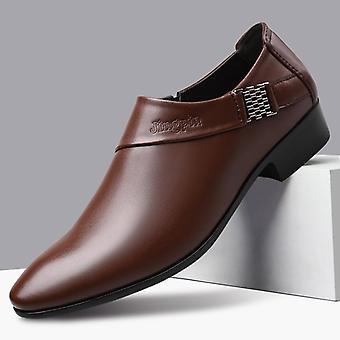 Men's De lux din piele de nunta elegant pantofi de afaceri