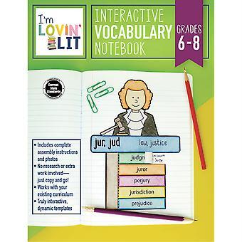 Interactive Vocabulary Notebook Resource Book, Grades 6-8