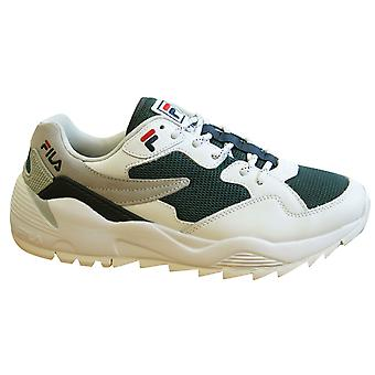 Fila Vault Cmr Jogger CB Low White Leather Lace up Mens Trainers 1010588 90Y