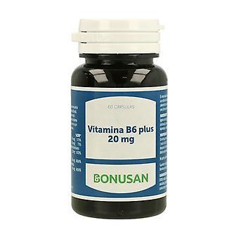Vitamin B6 Plus 20 mg 60 vegetable capsules