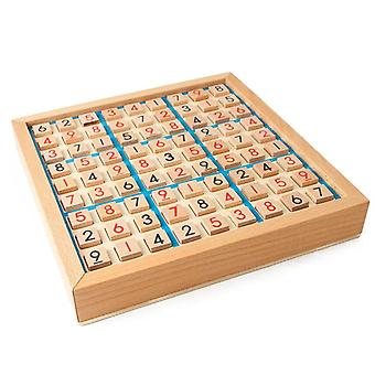 Wooden Sudoku Game Board With Drawer
