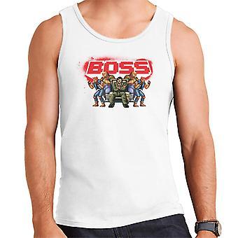Sega Streets Of Rage Boss Menn's Vest