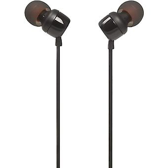 JBL TUNE 110 Wired In-Ear Headphones - Black