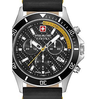 Reloj masculino militar suizo Hanowa 06-4337.04.007.20, cuarzo, 42 mm, 10ATM