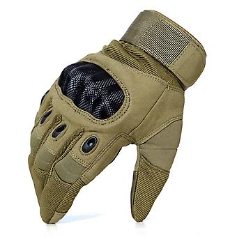 Touch Screen, Hard Knuckle Full Finger Gloves For Hunting, Riding Motorcycle,