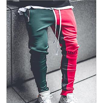 Men Stylish Ripped Jeans Pants Biker Skinny Slim Straight Frayed Denim Trousers