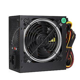 Max 800w Power Supply 12cm Multicolor Led Rgb Fan 24 Pin Pci Sata 12v Computer