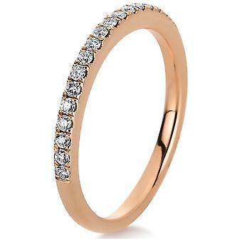 לונה בריאה אינסוף טבעת זכרונות חצי 1C366R854-2 - טבעת רוחב: 54