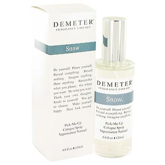 Demeter Snow Cologne Spray By Demeter 4 oz Cologne Spray