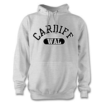Ciudad de país de Gales de Cardiff con capucha