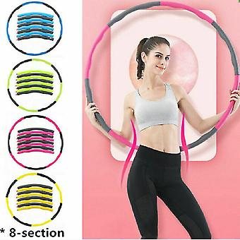 Blue Weighted Hula Hoop Abdominal Exerciser Fitness Core Strength Hoola