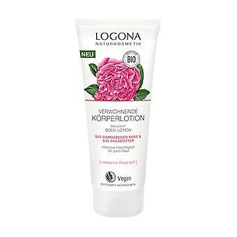 Rosa Damascena Organic Body Lotion 200 ml