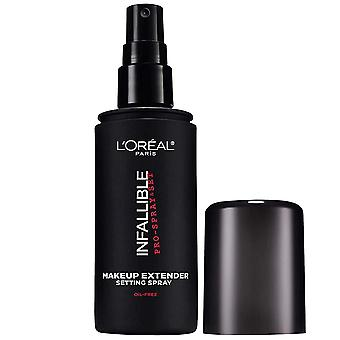 L'Oreal Paris Makeup Infallible Pro-Spray & Set Makeup Extender Setting Spray, 3.4 fl. Oz.