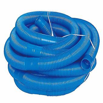 PoolSchlauch Ablauf graben sauberes Wasserrohr, blau und schwarz für einfache Lagerung