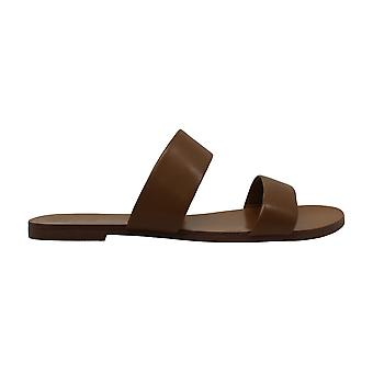 Vince Camuto Womens Rhonda fuskpäls öppen tå gång glida sandaler